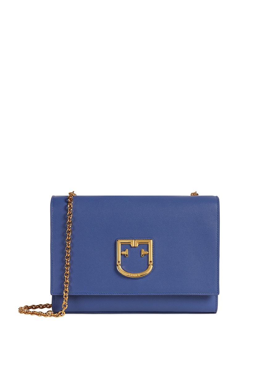 Купить Синяя сумка Viva синего цвета
