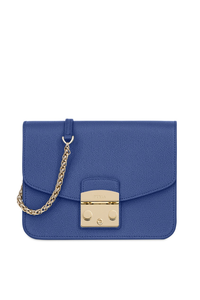 Купить Синяя сумка Metropolis синего цвета
