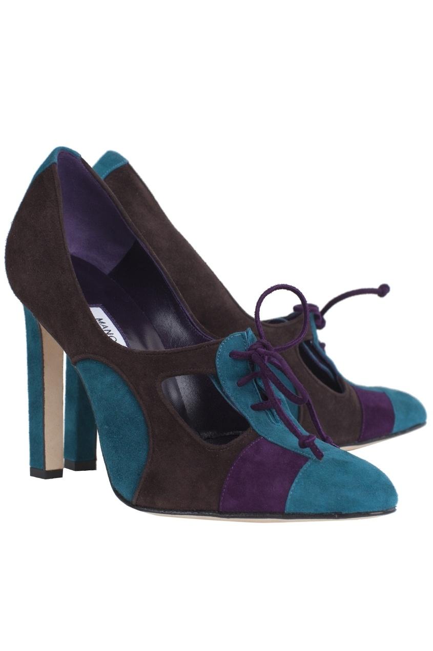 Замшевые туфли Puina.