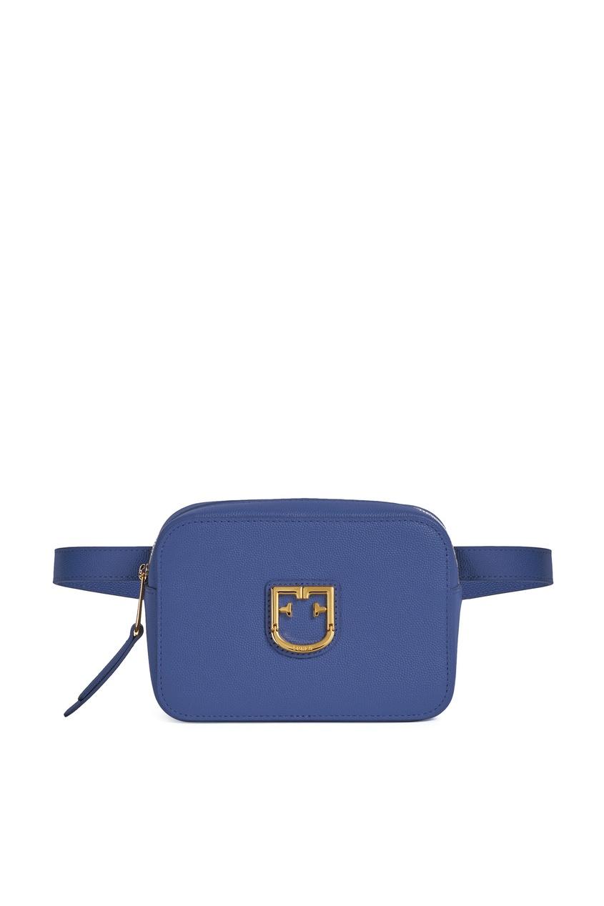 женская поясные сумка furla, синяя