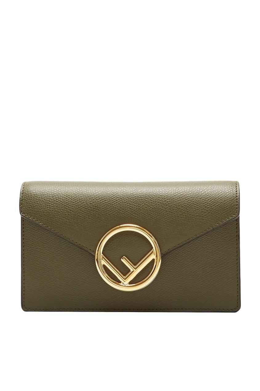 Поясная сумка зеленого цвета от Fendi