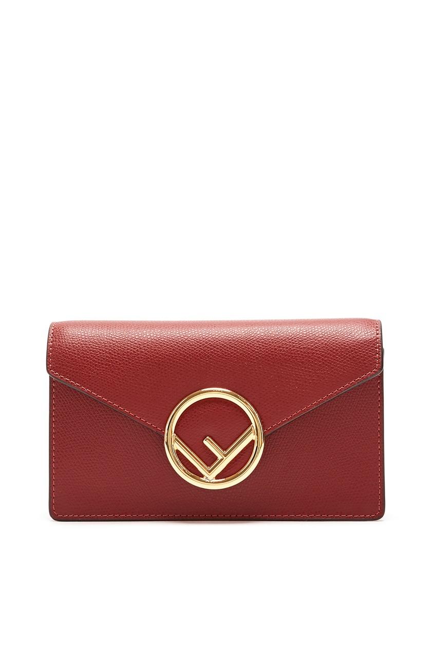 Красная поясная сумка от Fendi