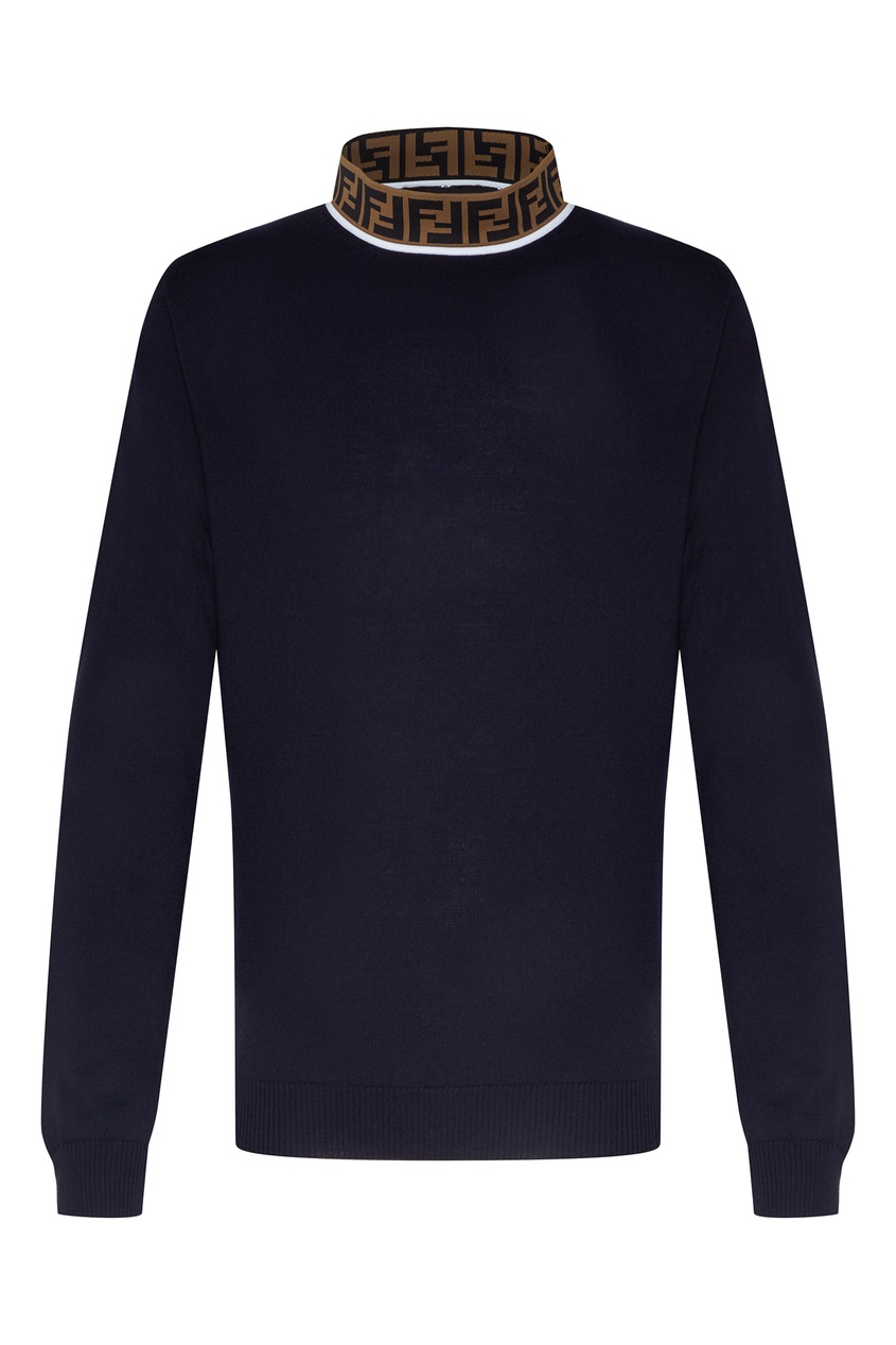 мужской свитер fendi, синий