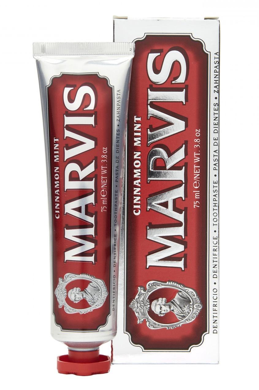 Marvis Зубная паста Мята и Корица 75ml зубная паста marvis мята и жасмин объем 75 мл