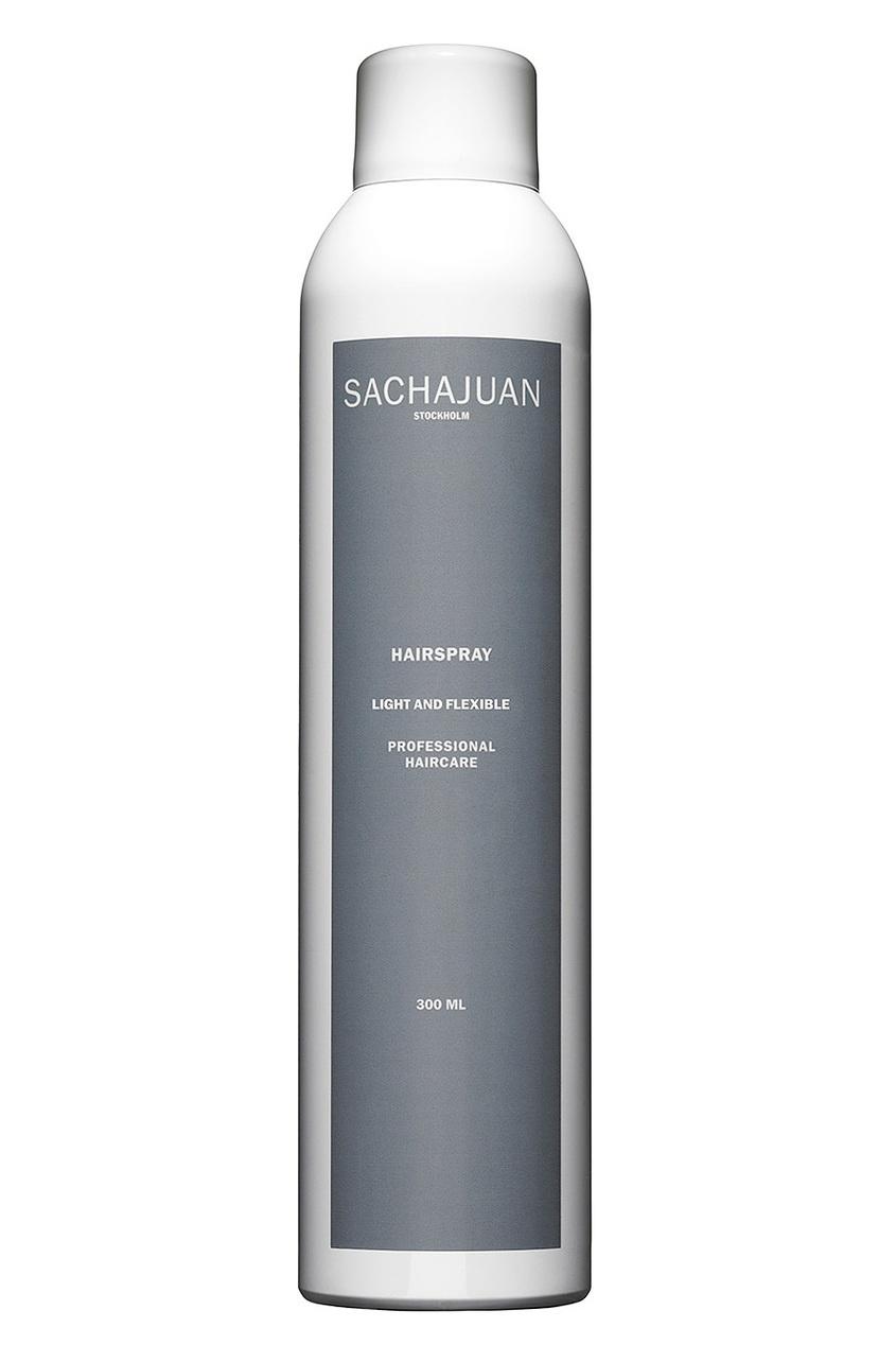 Sachajuan Лак для волос легкой фиксации Hairspray Light & Flexible 300ml лак schwarzkopf professional flexible hold pure hairspray