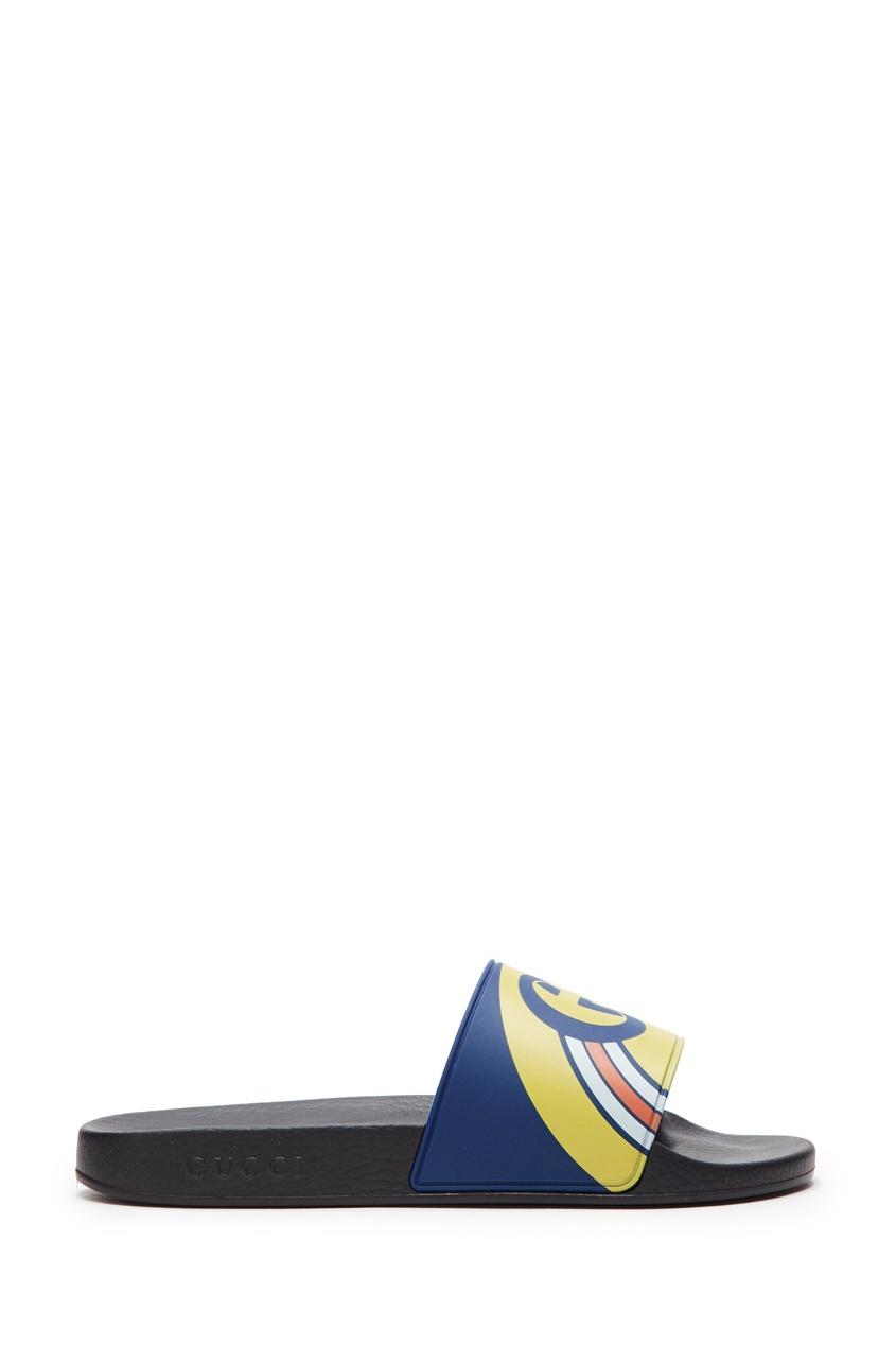 Цветные резиновые шлепанцы