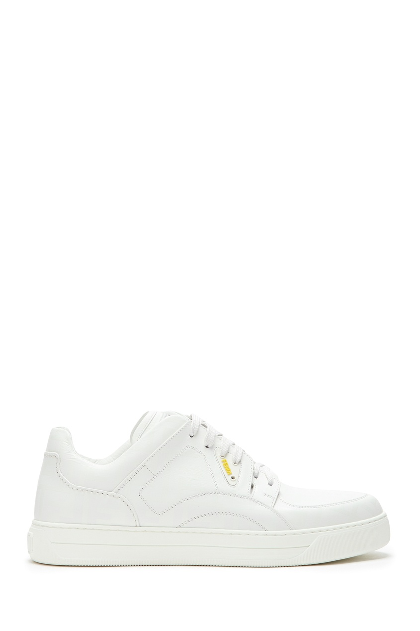 мужские кроссовки fendi, белые