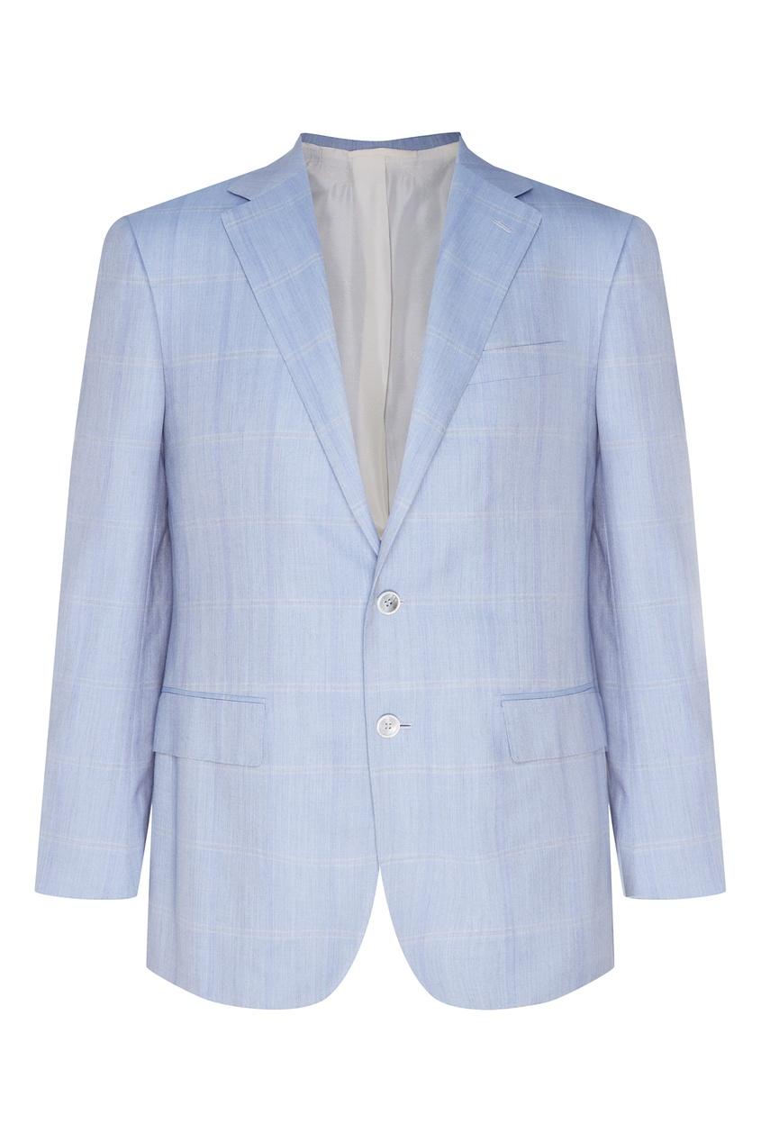 Светло-серый пиджак от Stefano Ricci