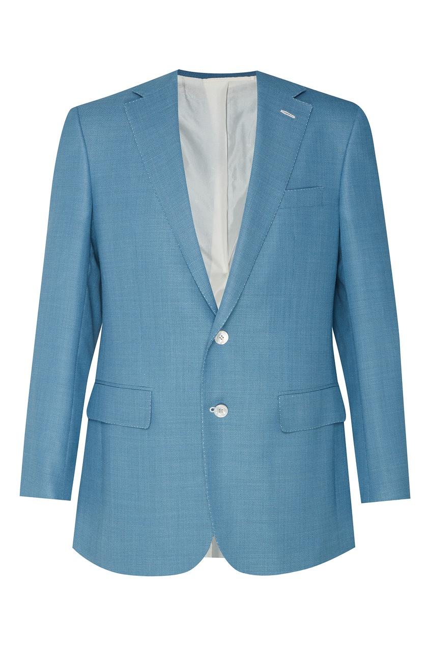 Бирюзовый пиджак Stefano Ricci