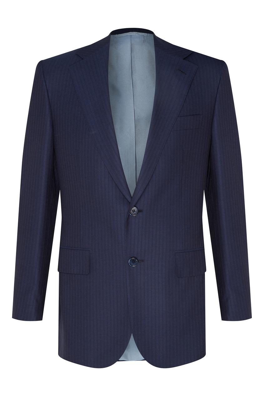 Серый костюм из шерсти Stefano Ricci