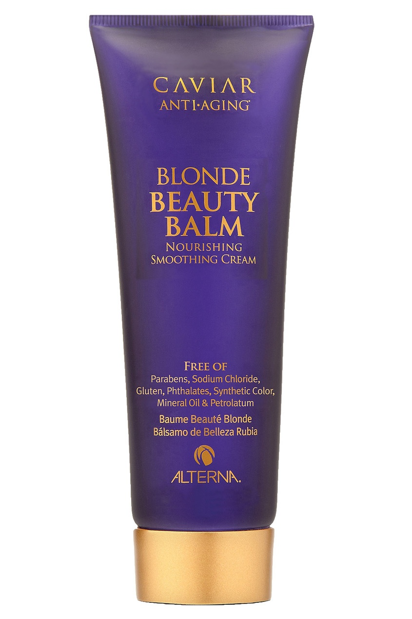 "Alterna ""Крем красоты"" для светлых волос Caviar Anti-Aging Brightening Blonde Beauty Balm 125ml alterna спрей ""абсолютная термозащита"" caviar anti aging perfect iron spray 122ml"