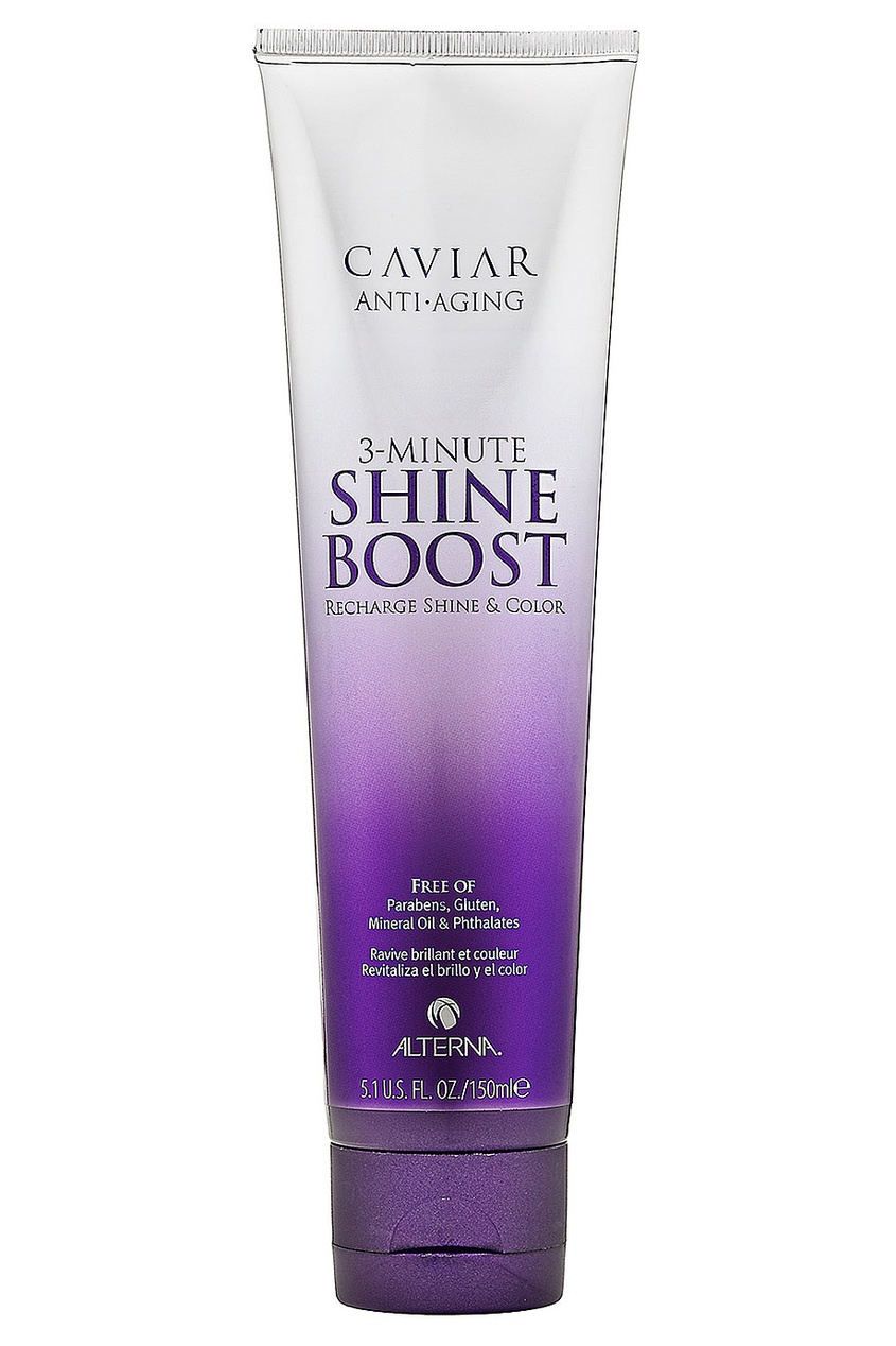 Крем для блеска волос Caviar 3-Minute Shine Boost 150ml