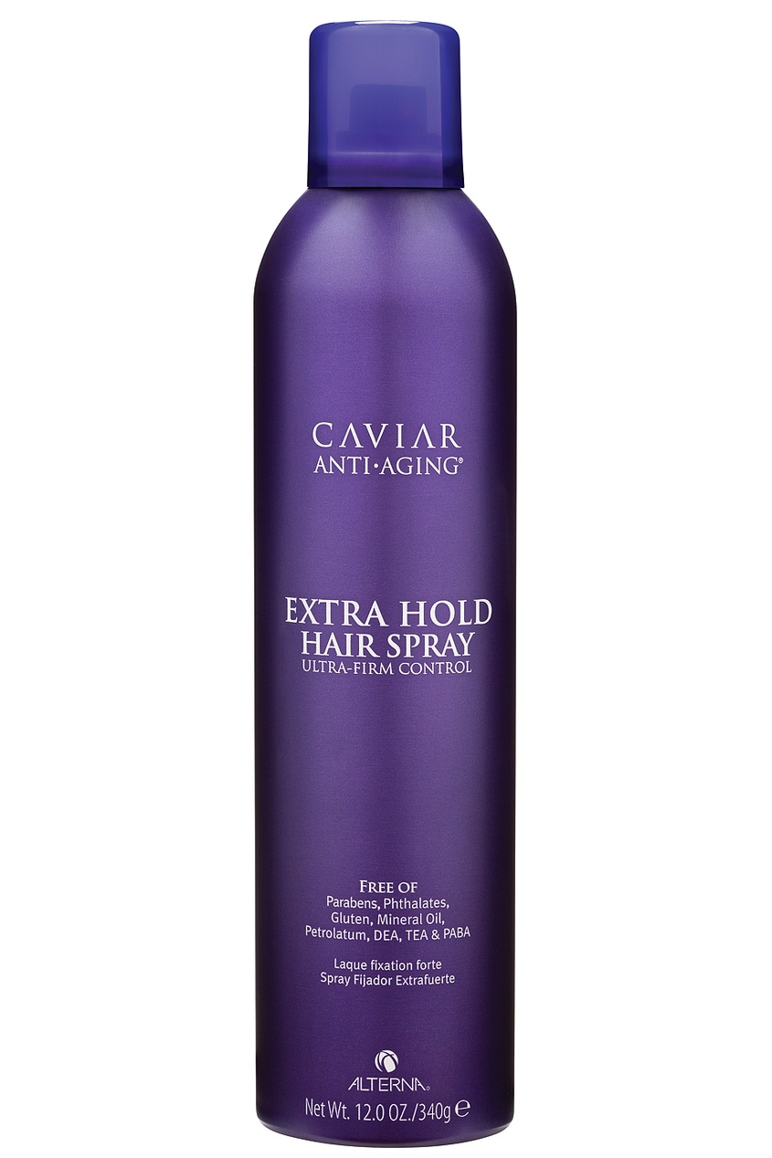 Лак сильной фиксации Caviar Anti-Aging Extra-Hold Hair Spray 400ml