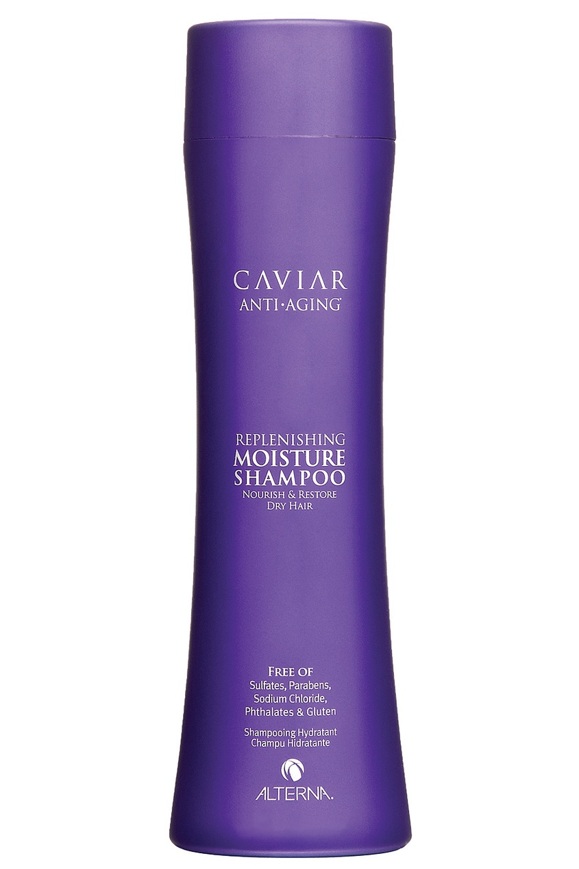 "Alterna Увлажняющий шампунь с морским шелком Caviar Anti-Aging Replenishing Moisture 250ml alterna спрей ""абсолютная термозащита"" caviar anti aging perfect iron spray 122ml"