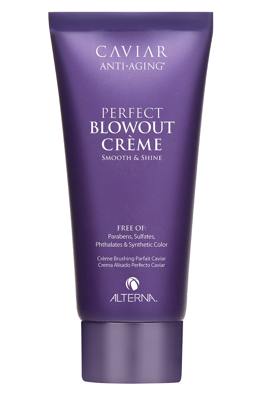 "Alterna Лосьон для разглаживания и блеска волос Caviar Anti-Aging Perfect Blowout Creme 100ml alterna спрей ""абсолютная термозащита"" caviar anti aging perfect iron spray 122ml"