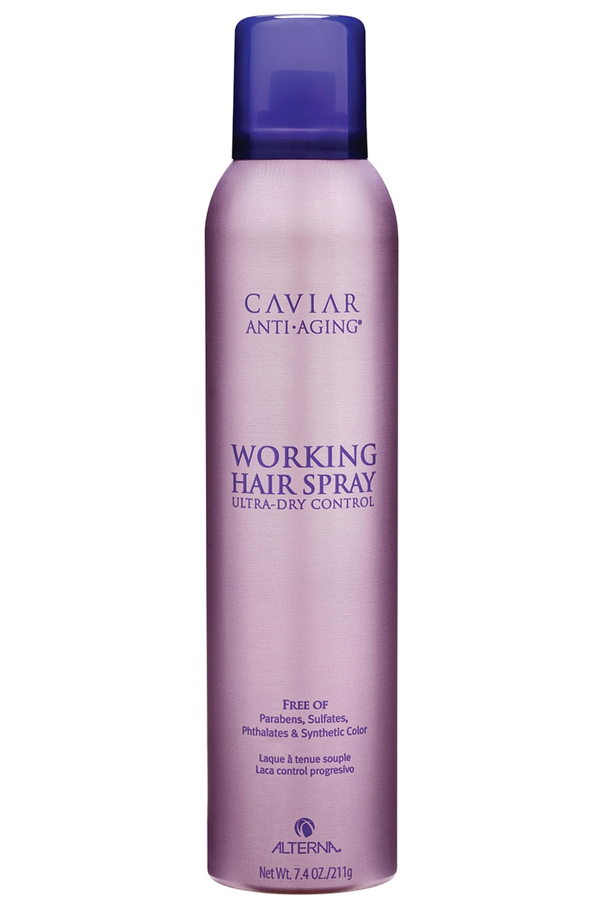 "Alterna Лак для волос подвижной фиксации Caviar Anti-Aging Working Hair Spray 250ml alterna спрей ""абсолютная термозащита"" caviar anti aging perfect iron spray 122ml"