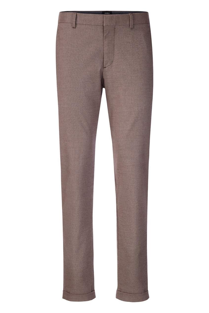 мужские брюки strellson, коричневые