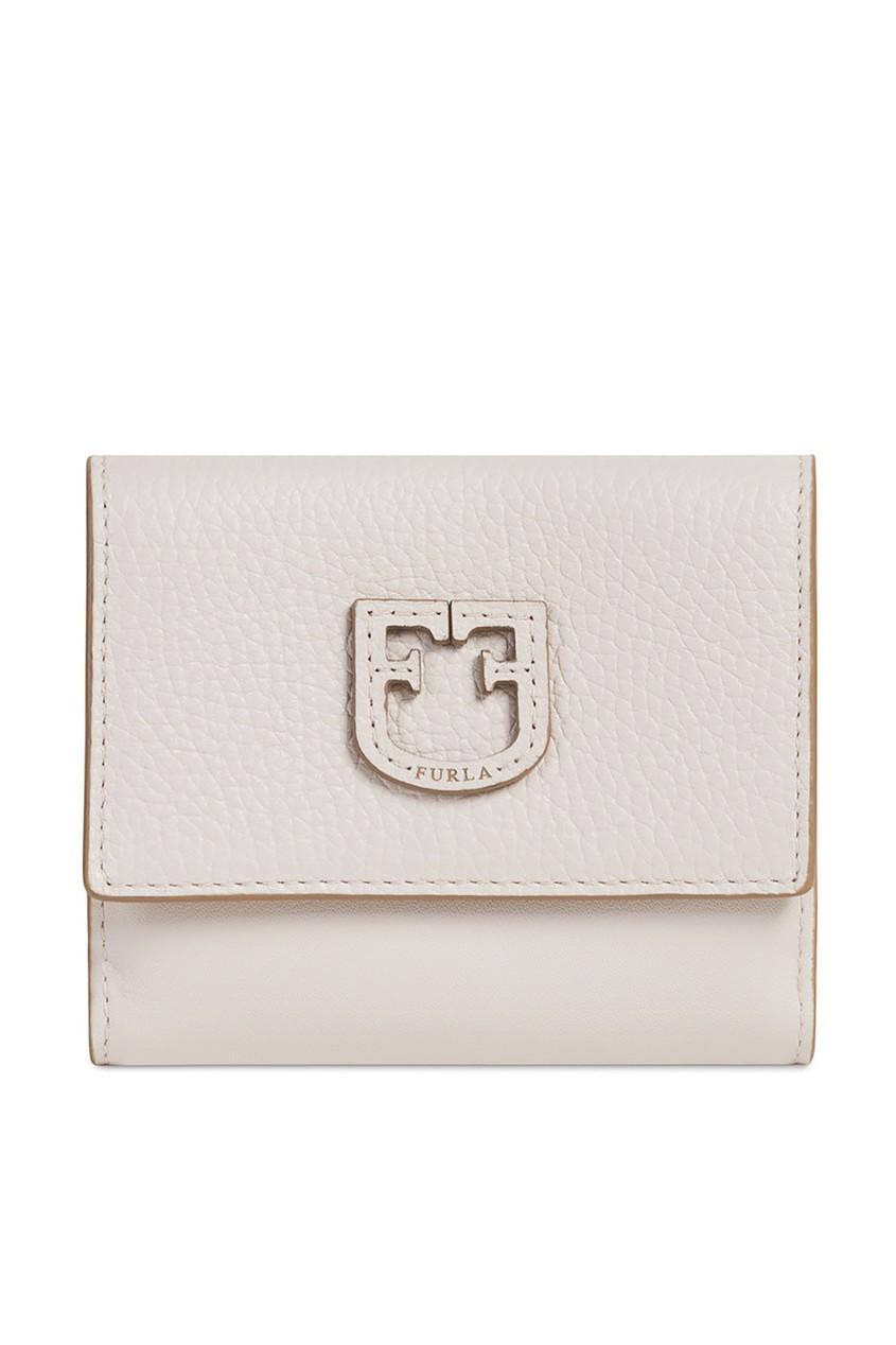 Купить Кожаный кошелек Dea бежевого цвета