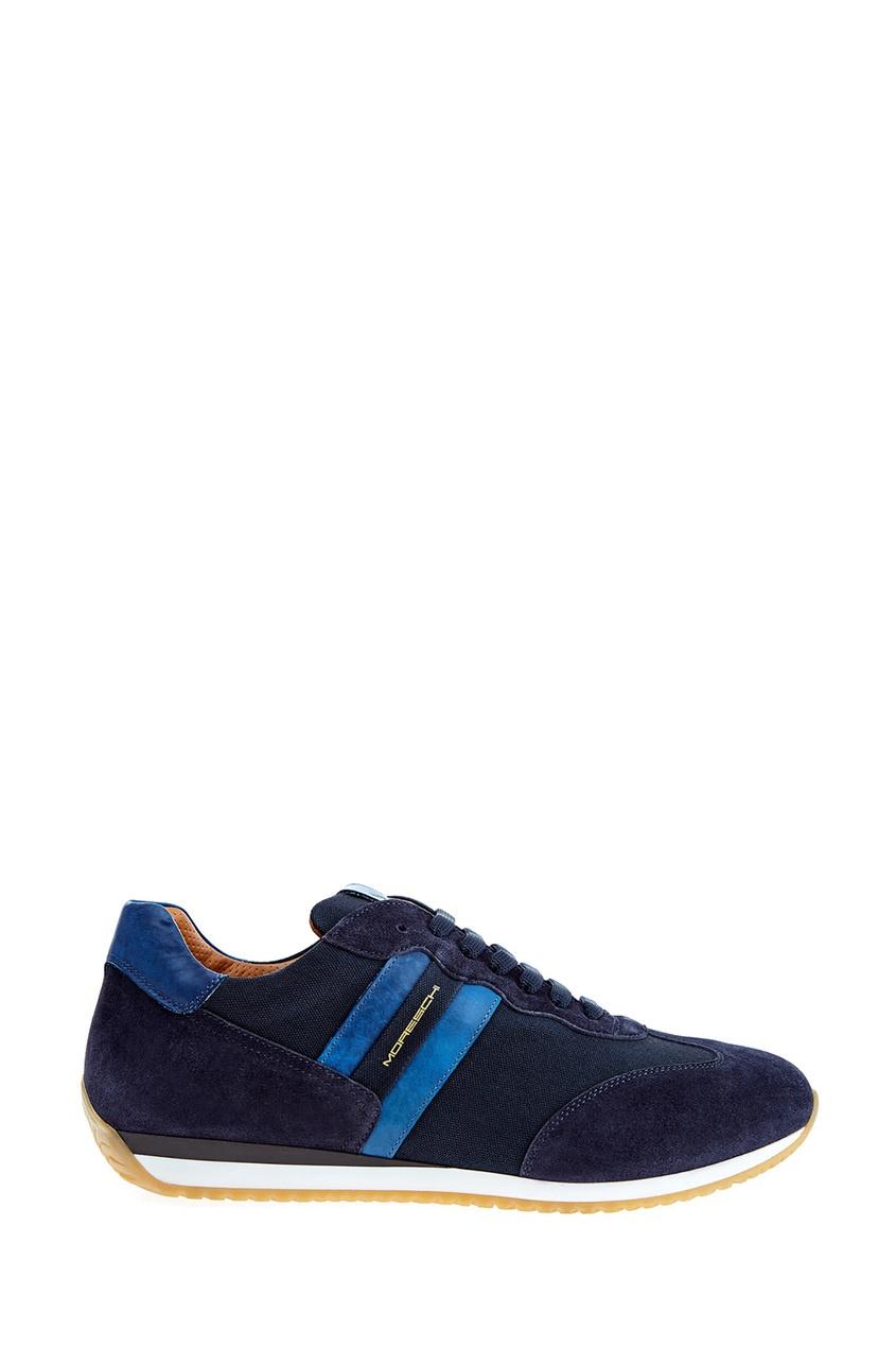 мужские кроссовки moreschi, синие