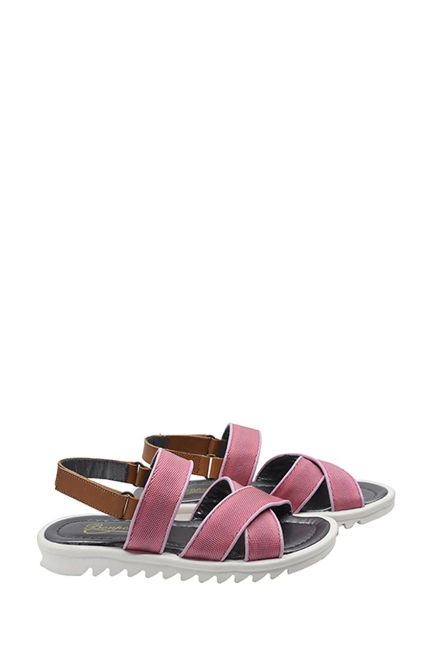 Розовые сандалии от Bonpoint