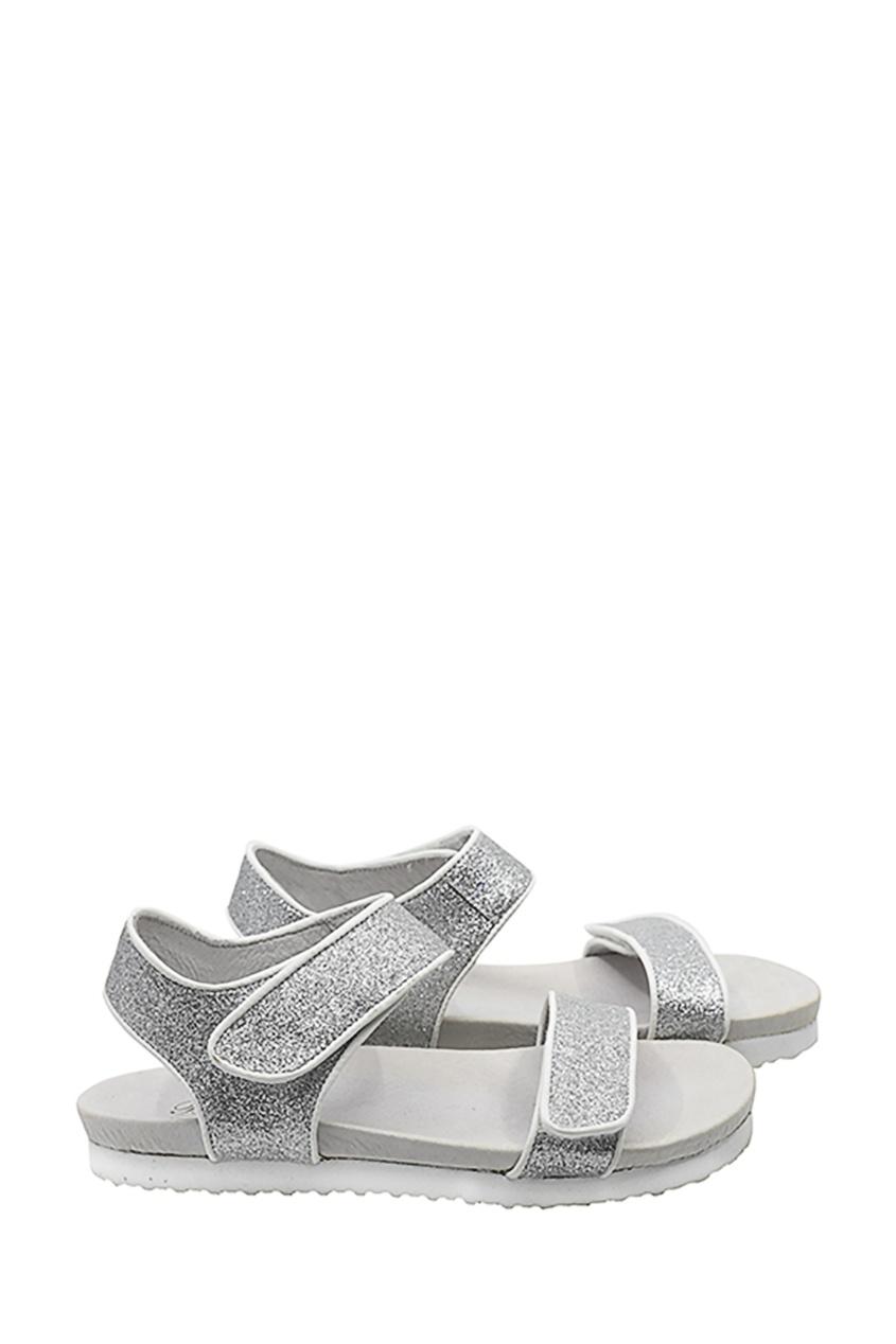 Серебряные босоножки от Bonpoint