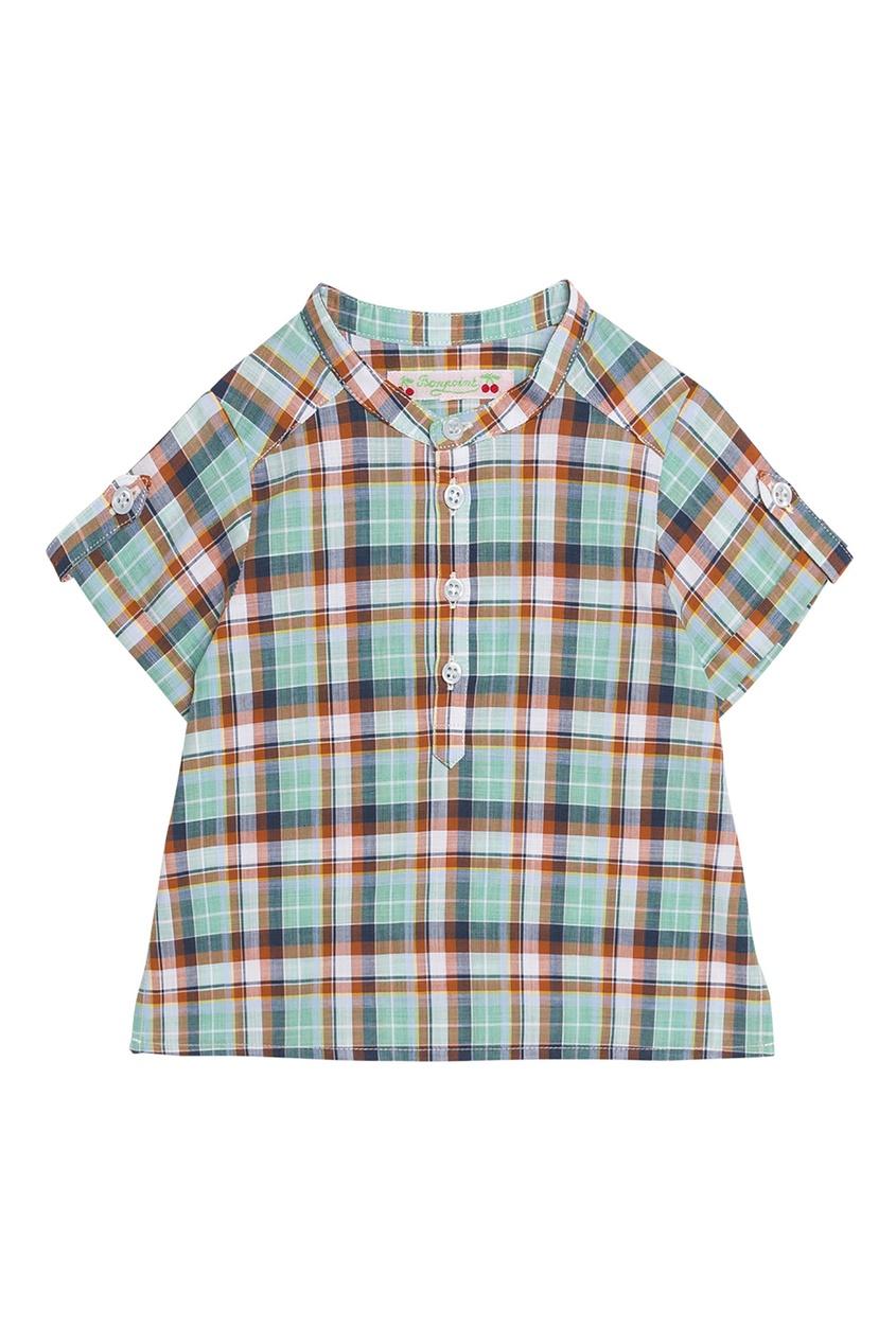 Рубашка с короткими рукавами Bonpoint