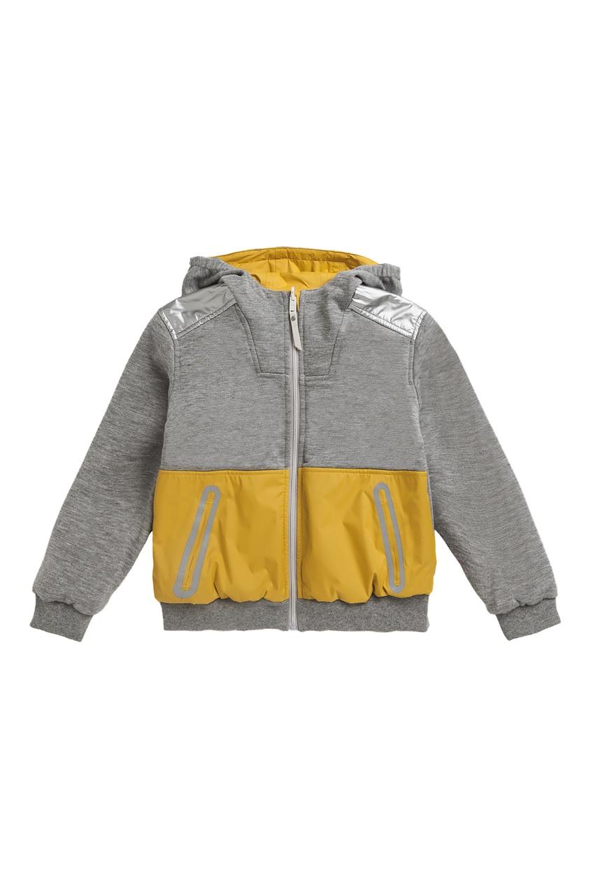 Двухцветная куртка Bonpoint