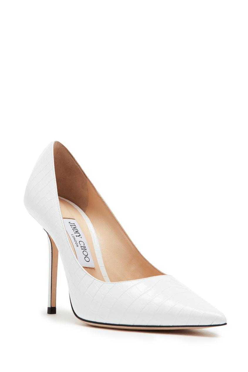 женские туфли jimmy choo, белые