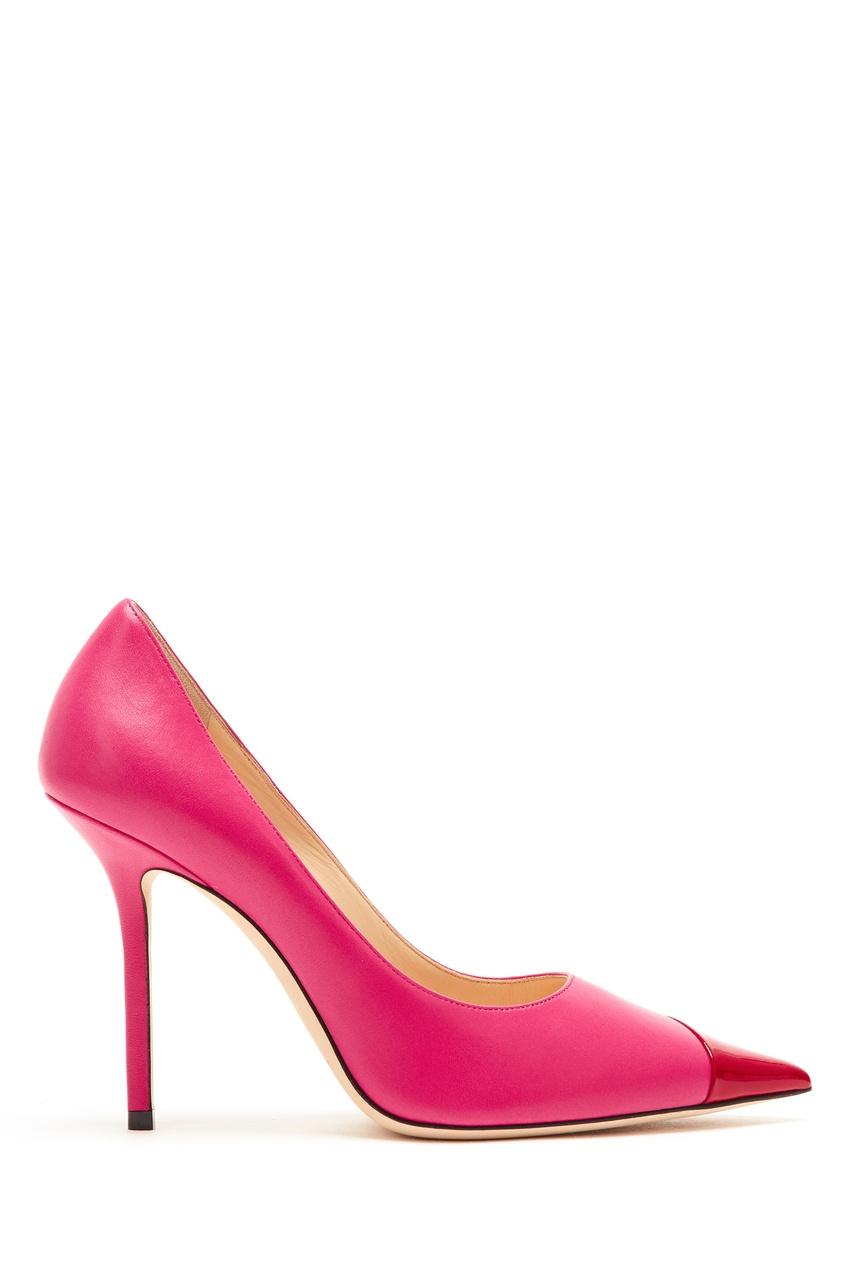 женские туфли jimmy choo, розовые