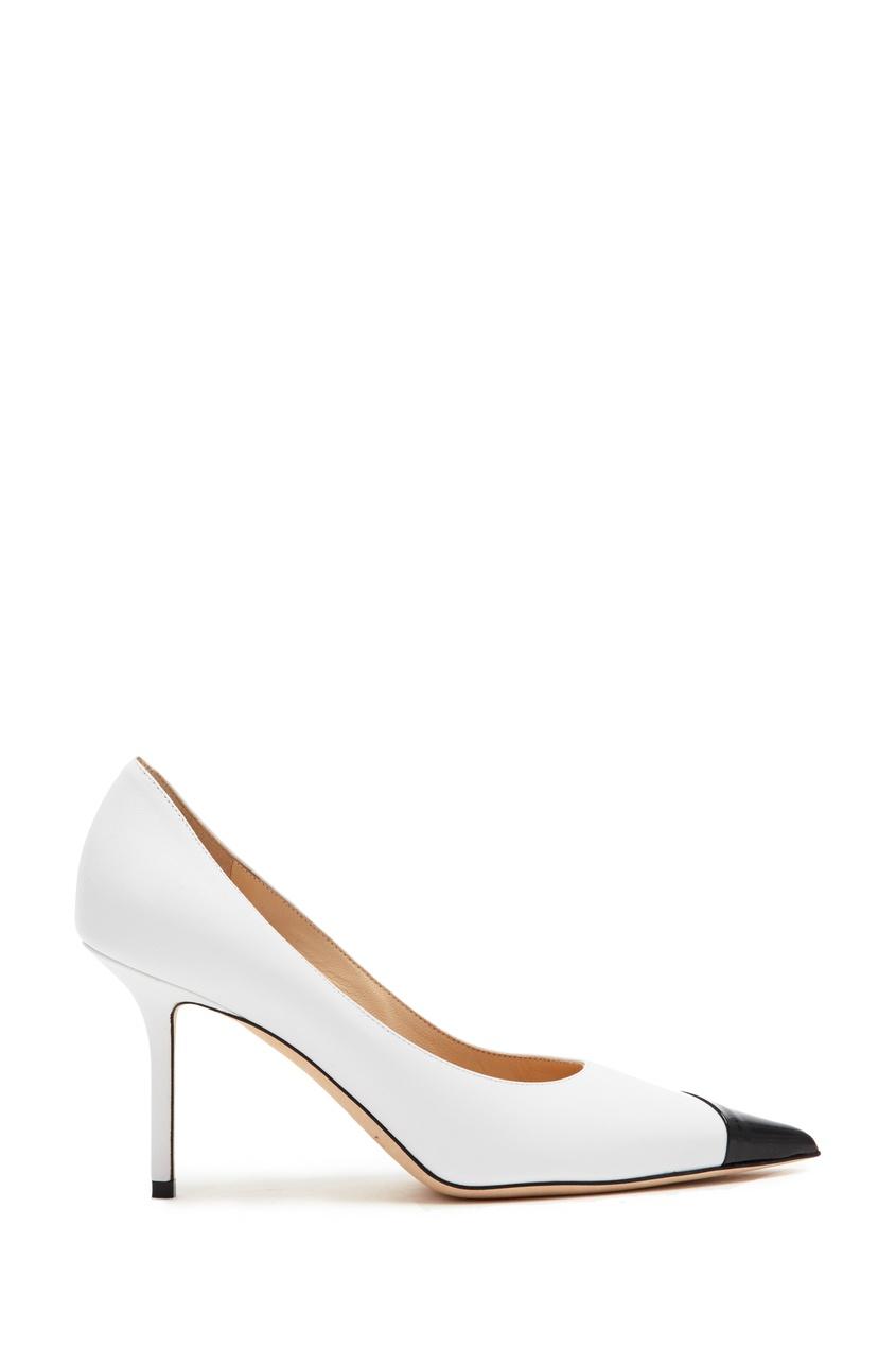 Купить Черно-белые туфли Love 85 от Jimmy Choo цвет multicolor