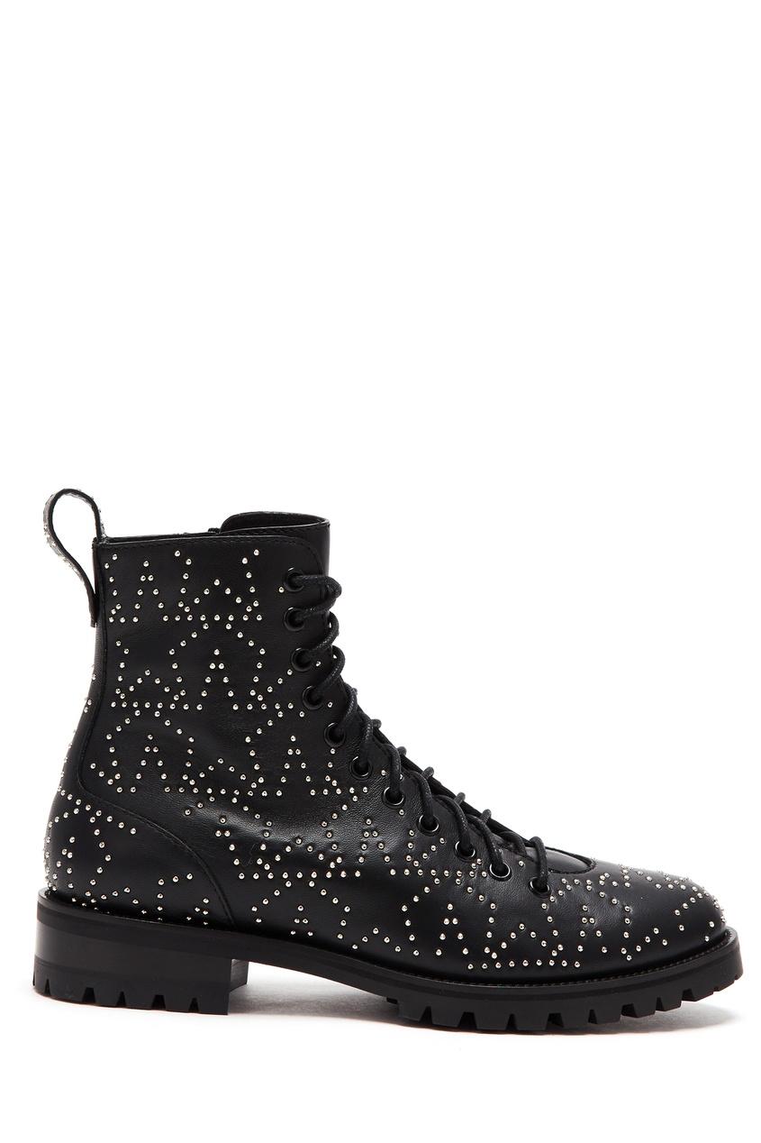 женские ботинки jimmy choo, черные