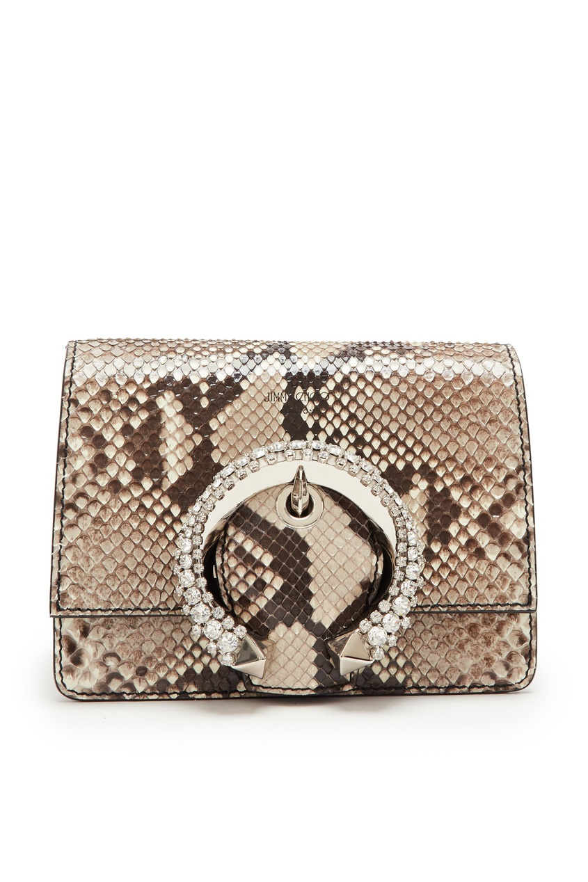 женская сумка jimmy choo, коричневая