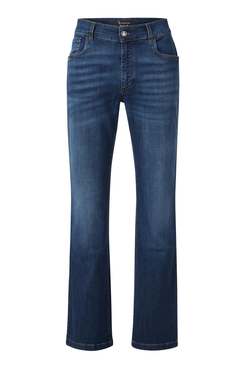 мужские брюки клеш billionaire, синие