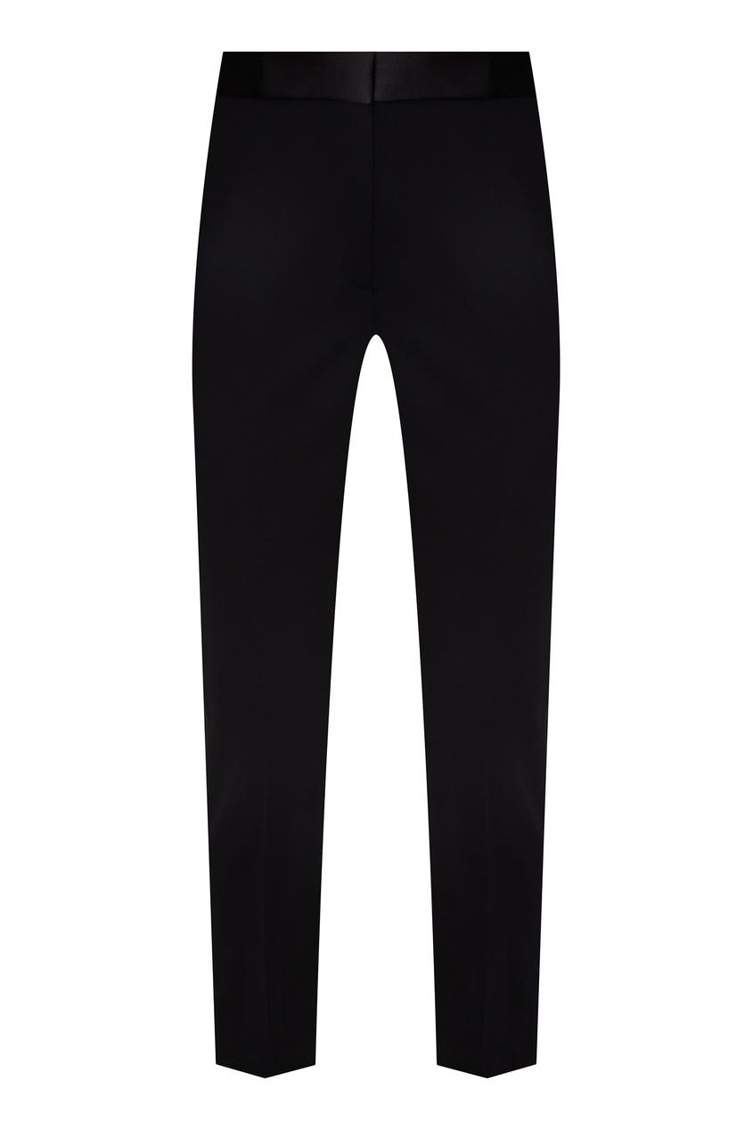 Купить Узкие прямые брюки черного цвета от Sandro черного цвета