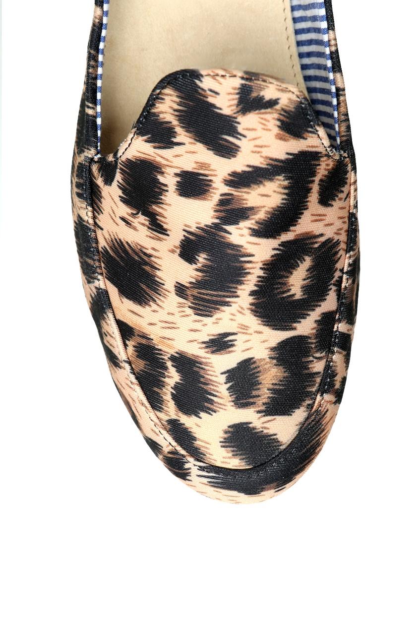 Слиперы с леопардовым принтом