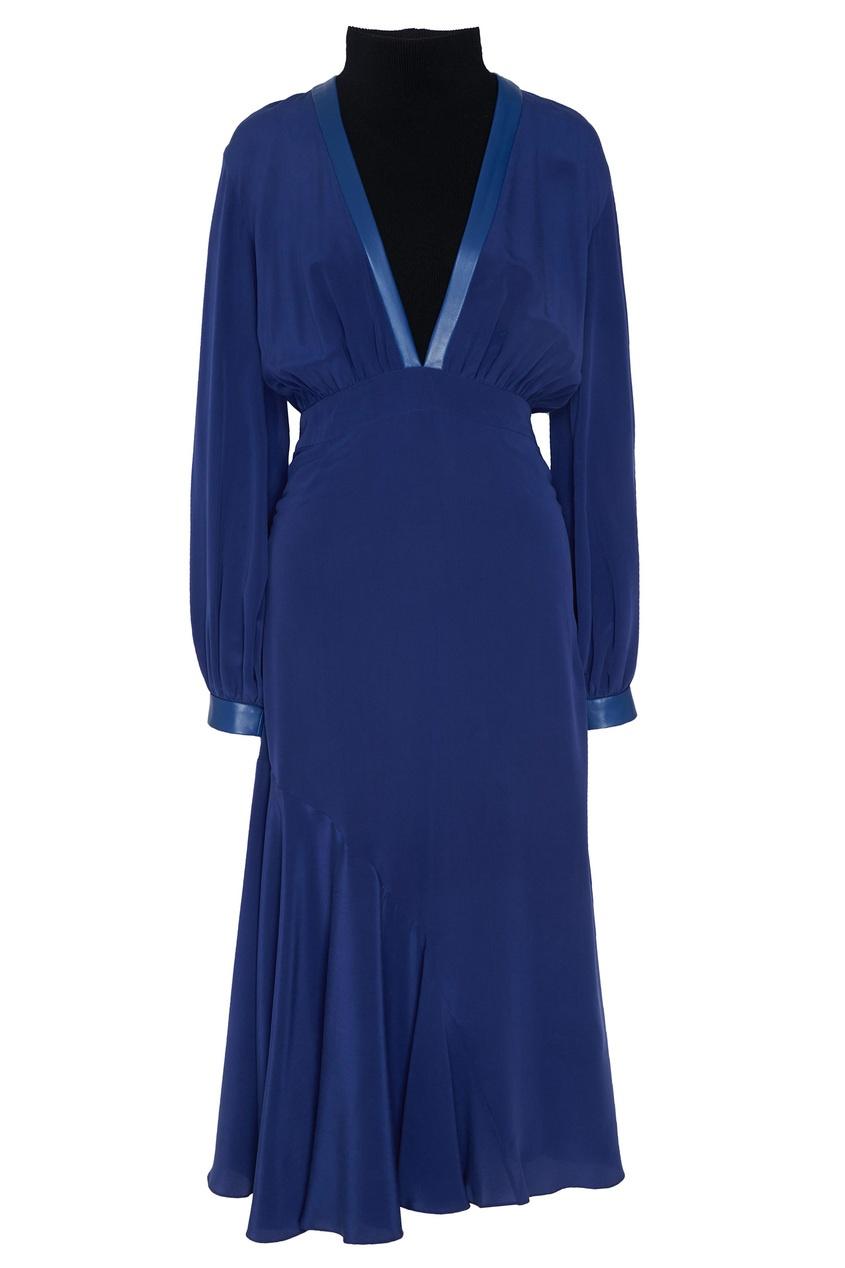 Купить Комплект с платьем и боди от Color°Temperature синего цвета