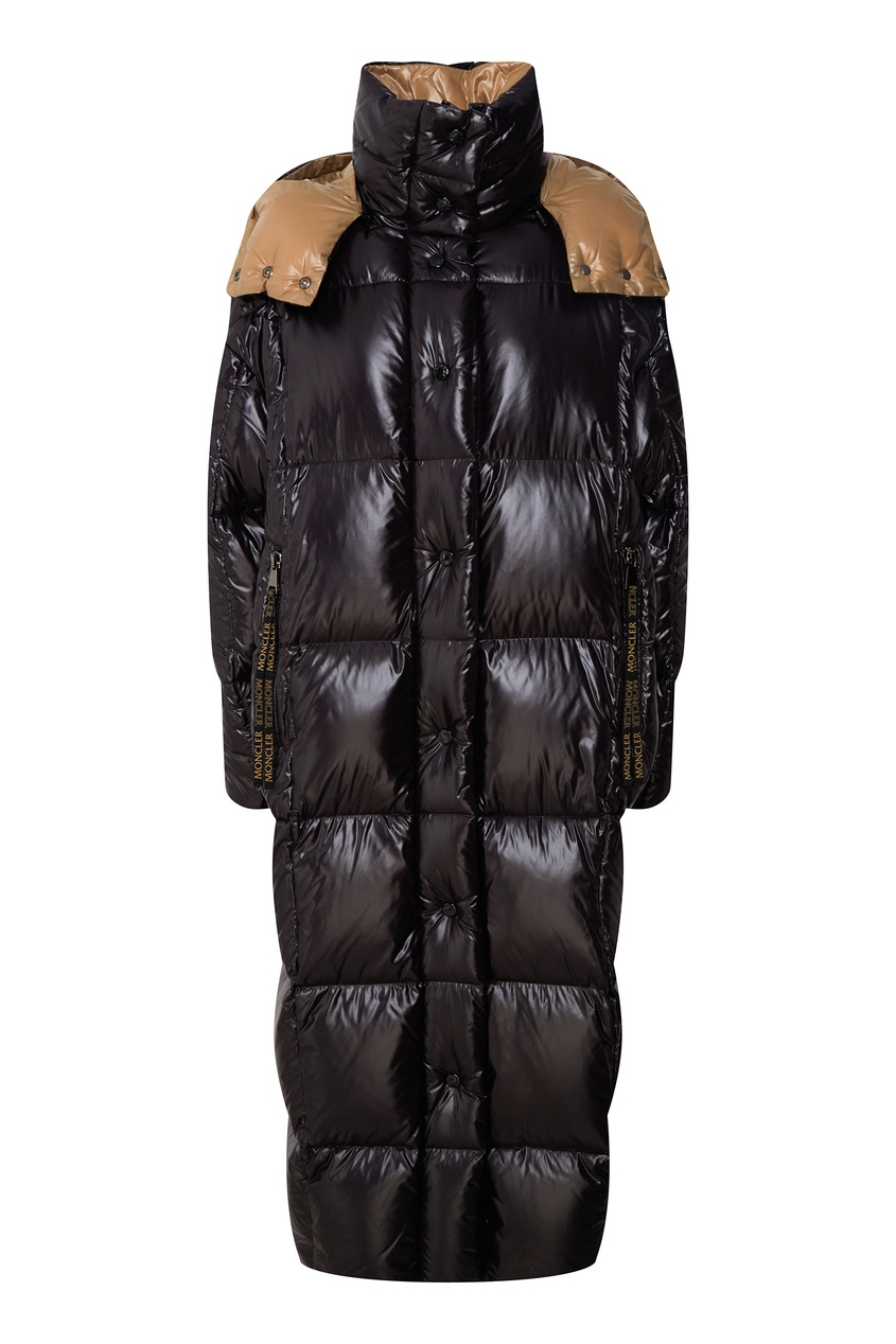 женское пальто moncler, черное