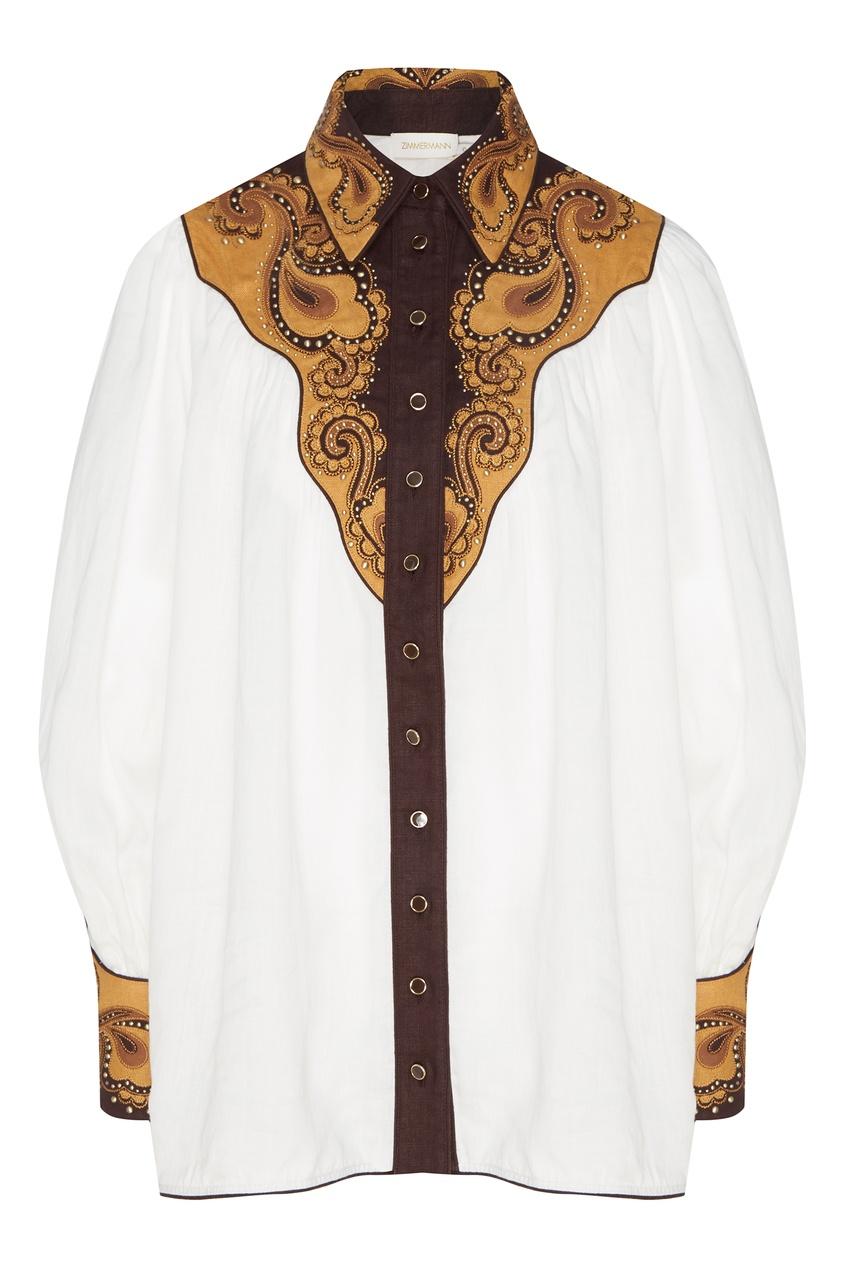 женская блузка zimmermann