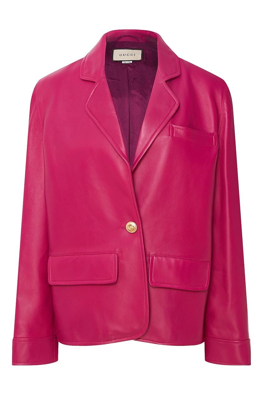 женский пиджак gucci, фуксия