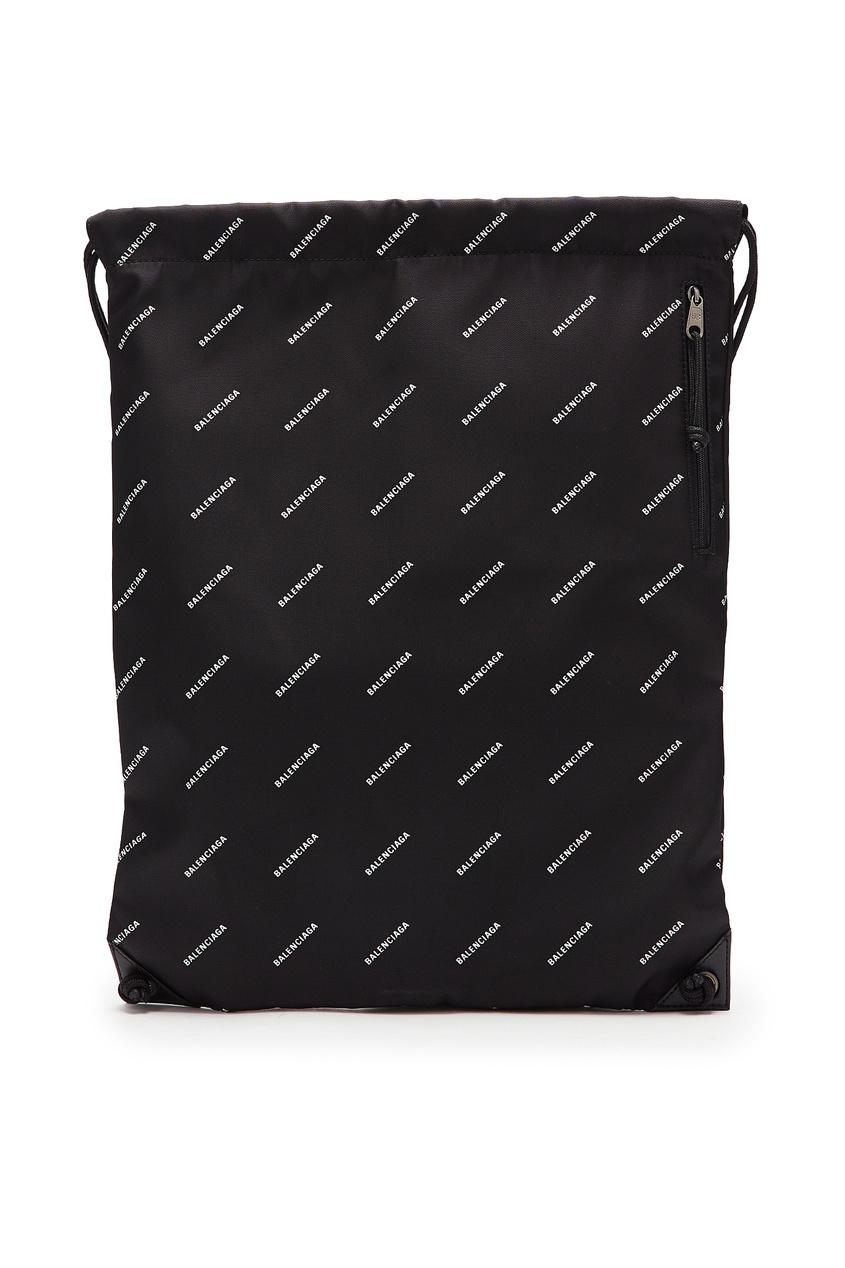 мужская сумка balenciaga man, черная