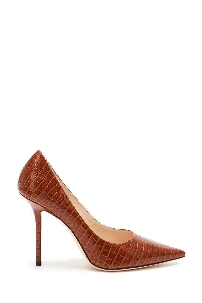 женские туфли jimmy choo, коричневые