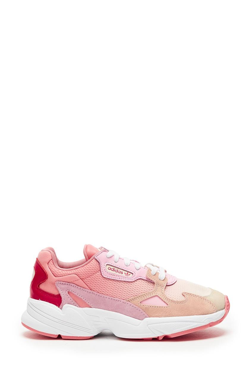 Розовые кроссовки Falcon adidas
