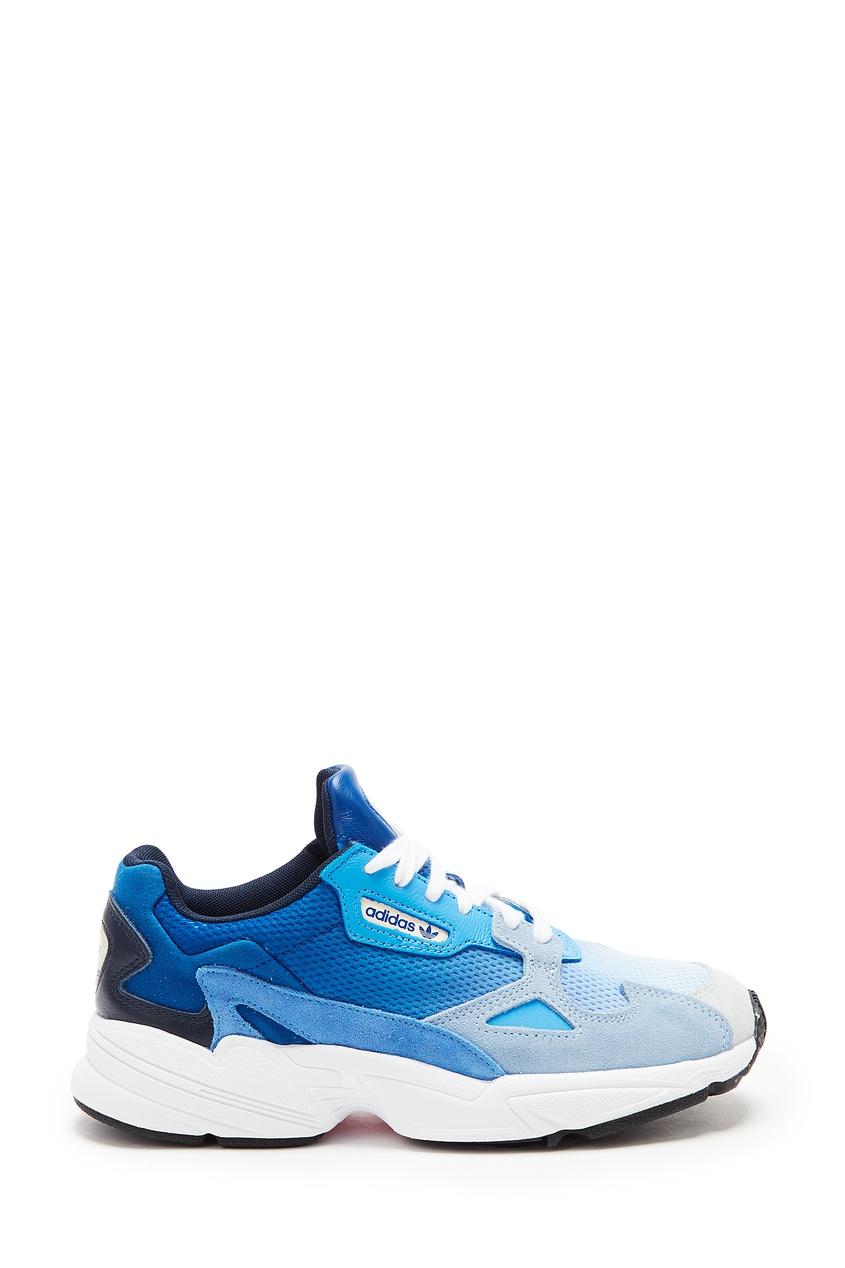 Голубые кроссовки Falcon от Adidas