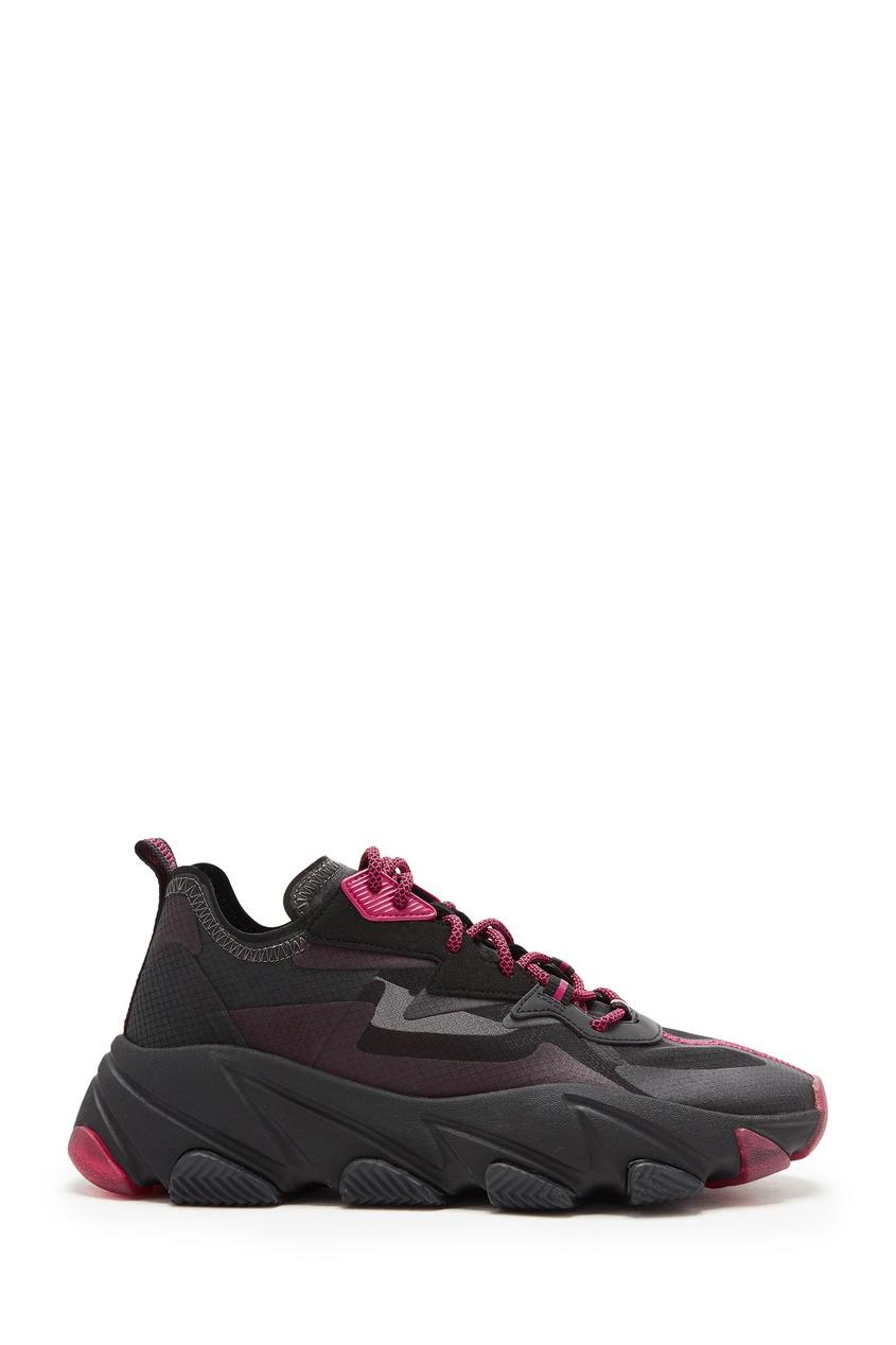 Черно-розовые кроссовки Eclipse