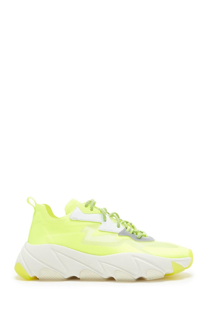 Желтые кроссовки Eclipse