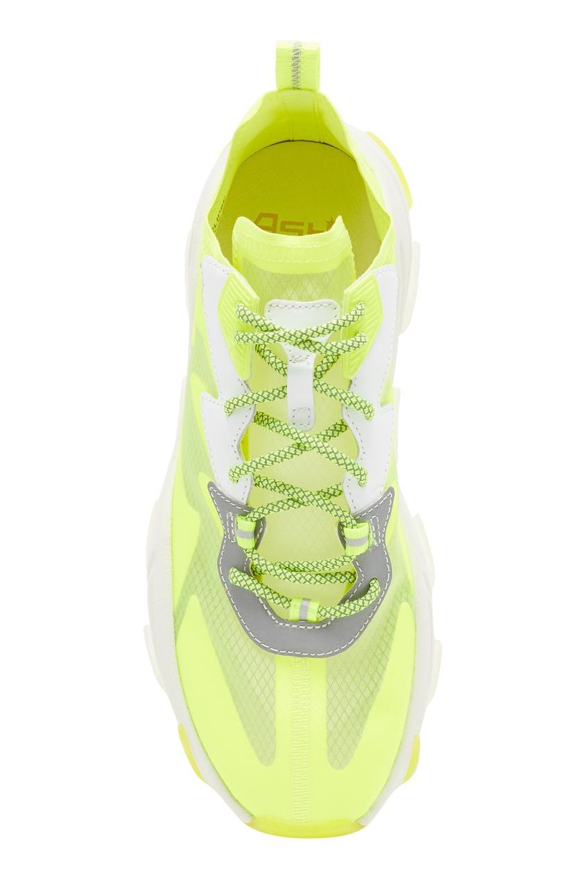Фото 6 - Желтые кроссовки Eclipse цвет multicolor