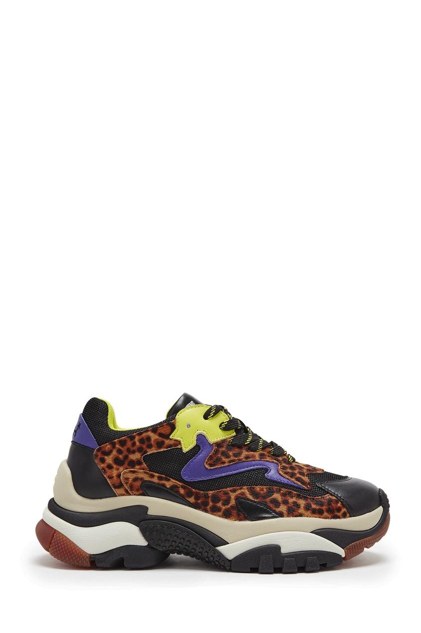 Разноцветные кроссовки Addict
