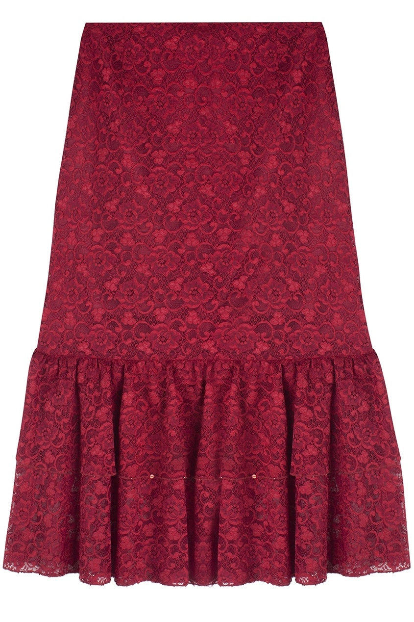 Guy Laroche Vintage Кружевная юбка (90-е) guy laroche vintage шерстяная юбка миди 1980 е