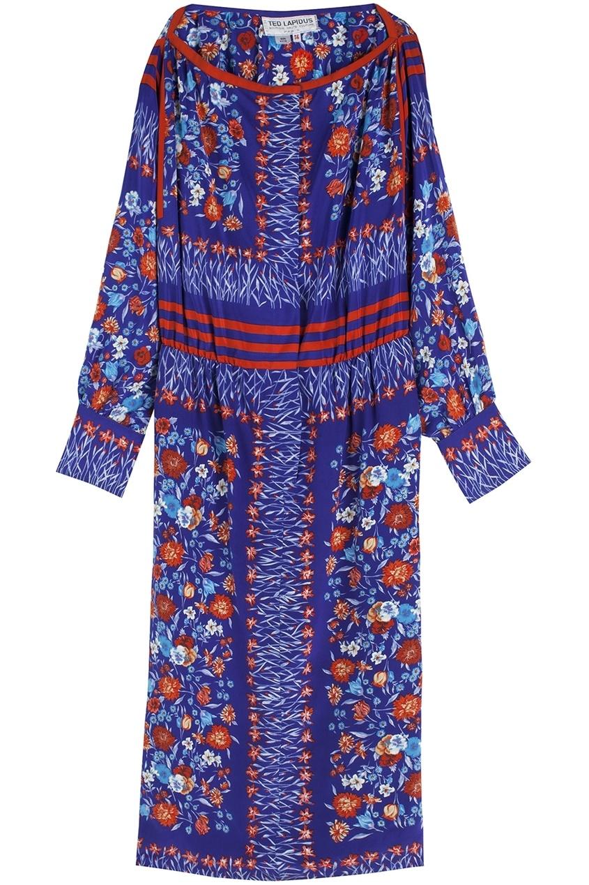 Ted Lapidus Vintage Шелковое платье (70-е)