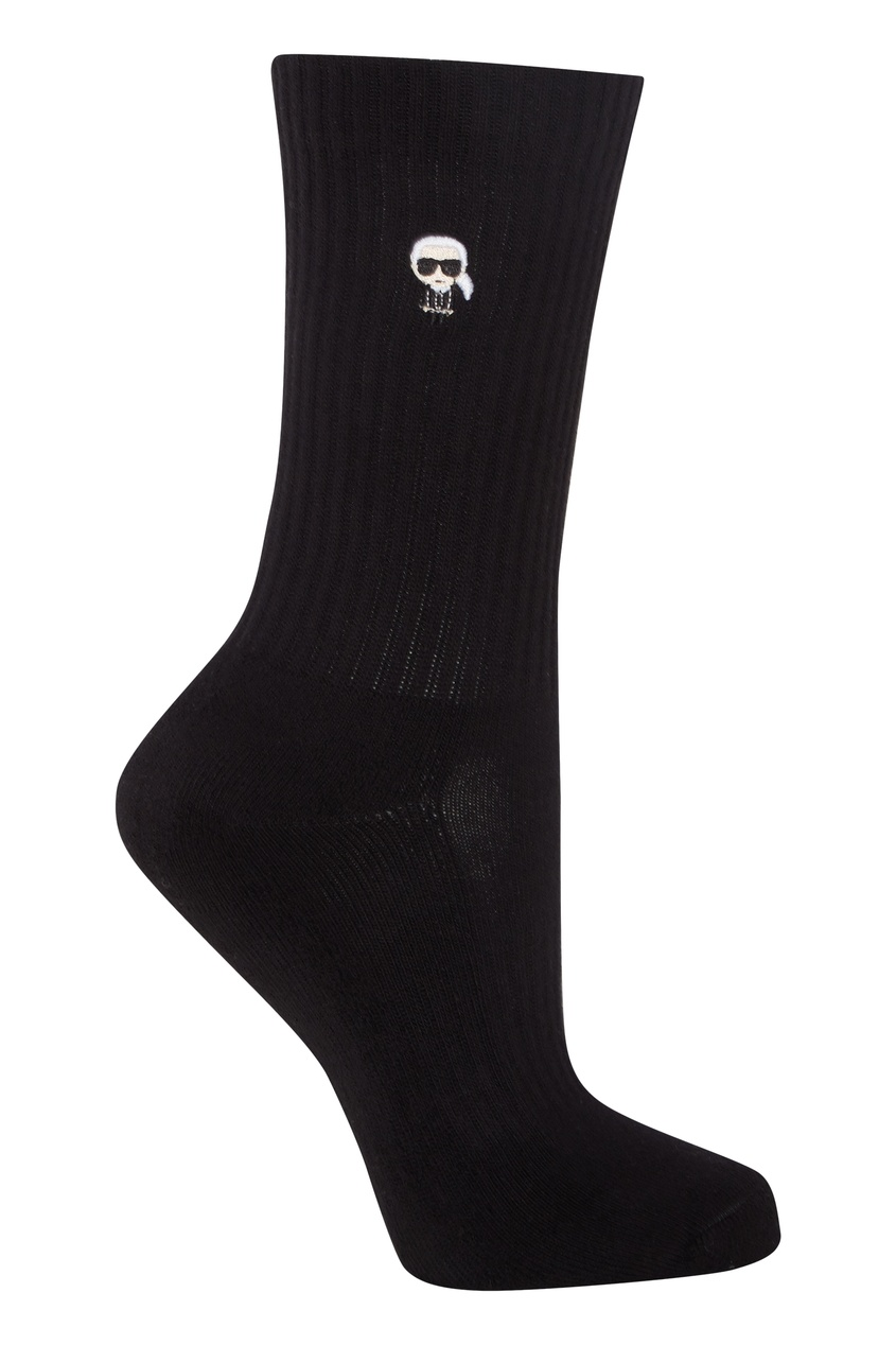 женские носки karl lagerfeld, белые
